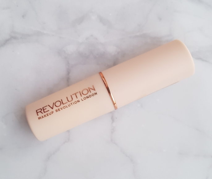 makeup revolution fast base foundation in C1