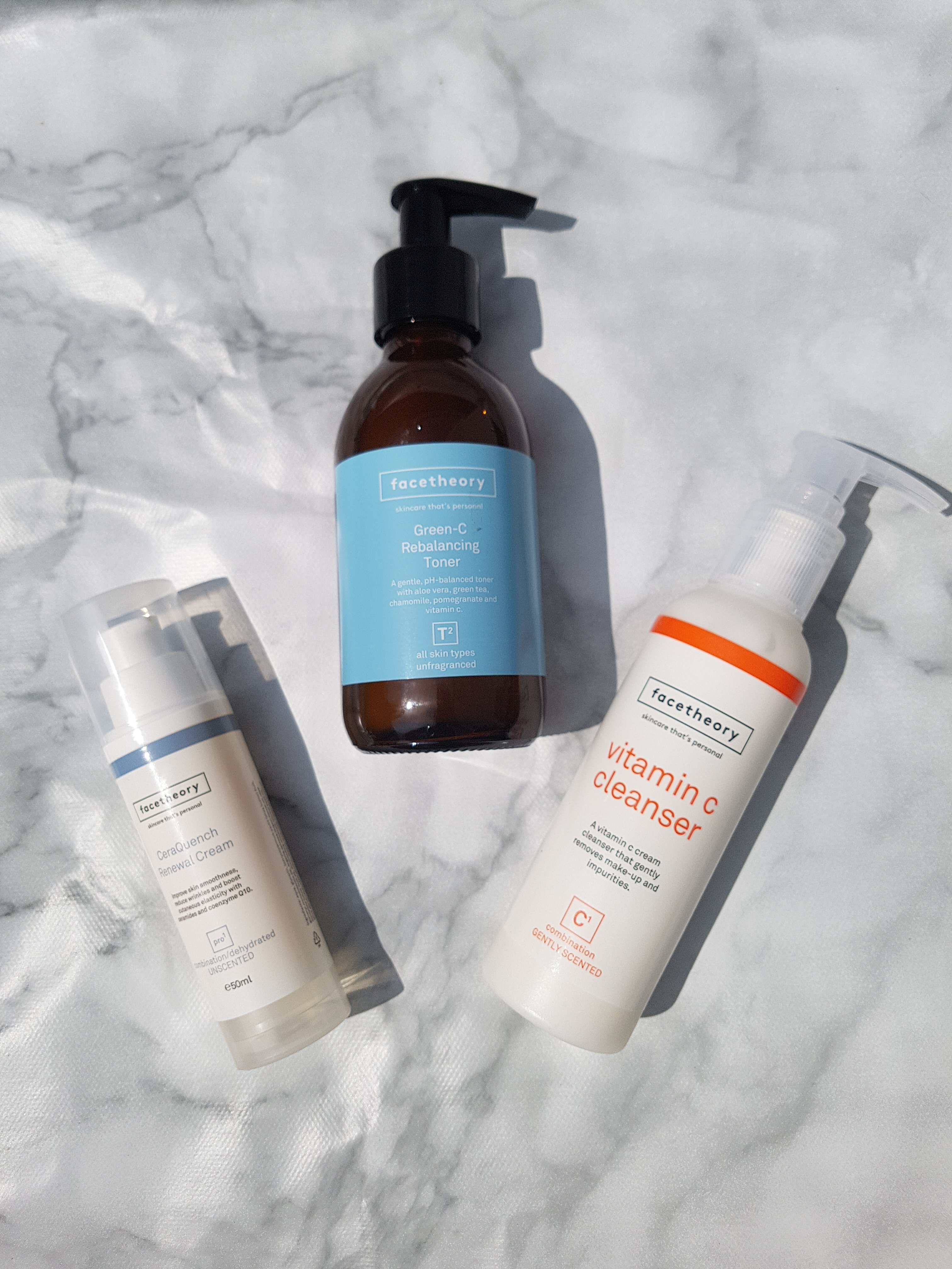 Face Theory skincare products